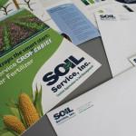 Brand identity and logo design - Soil Service