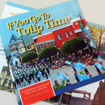 Book cover and layout - If You Go to Tulip Time