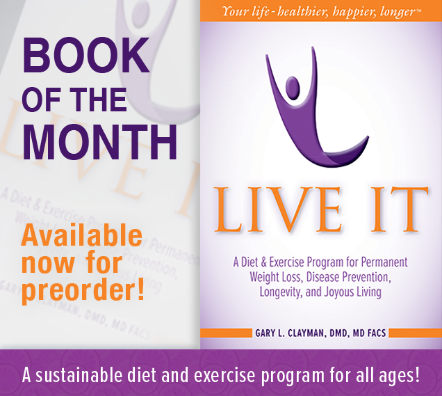 Write Place Book of the Month - Live It now available for preorder
