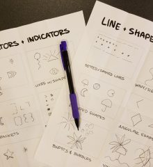 UX-design-worksheets-pencil