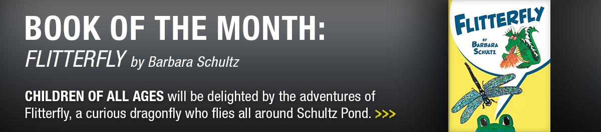 June book of the month website slider: Flitterfly