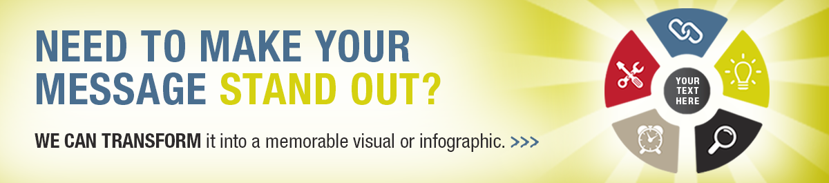 Make your messages stand out by having it transformed into an infographic
