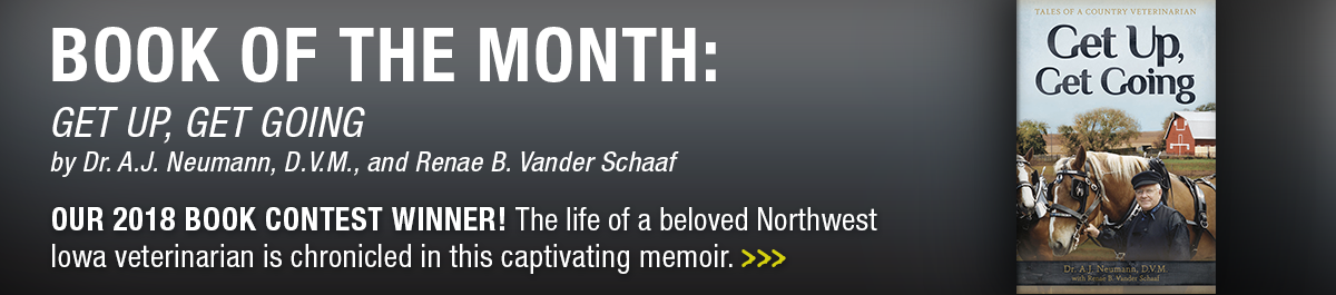 April book of the month: Get Up, Get Going by Neumann and Vander Schaaf