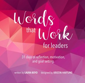 Words that Work for Leaders book cover